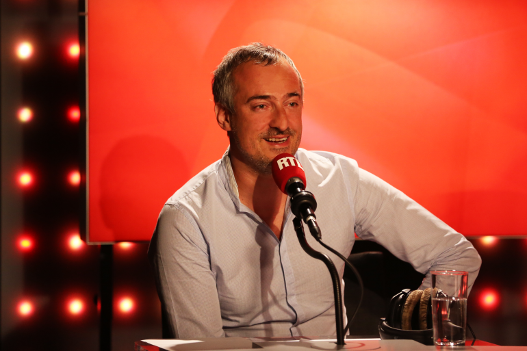 """Sébastien Thoen dans """"Les Grosses Têtes"""""""