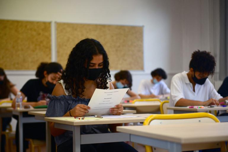 Epreuve de philosophie pour les élèves de terminale ce 17 juin, photo prise au lycée Helene Boucher à Paris