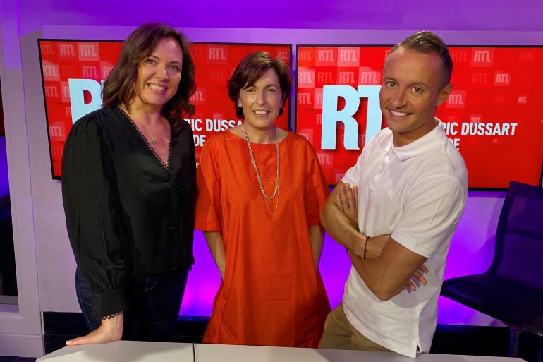 Jade, Ruth Elkrief et Eric Dussart