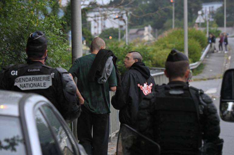 Des gendarmes à Redon, le 19 juin 2021