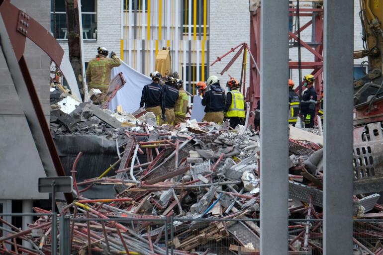 L'effondrement du chantier à Anvers a fait 5 morts et 9 blessés
