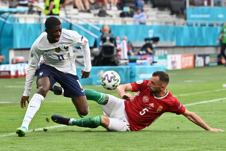 Ousmane Dembélé face à la Hongrie, le 19 juin 2021