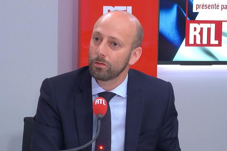 Stanislas Guerini au micro de RTL, le 20 juin 2021