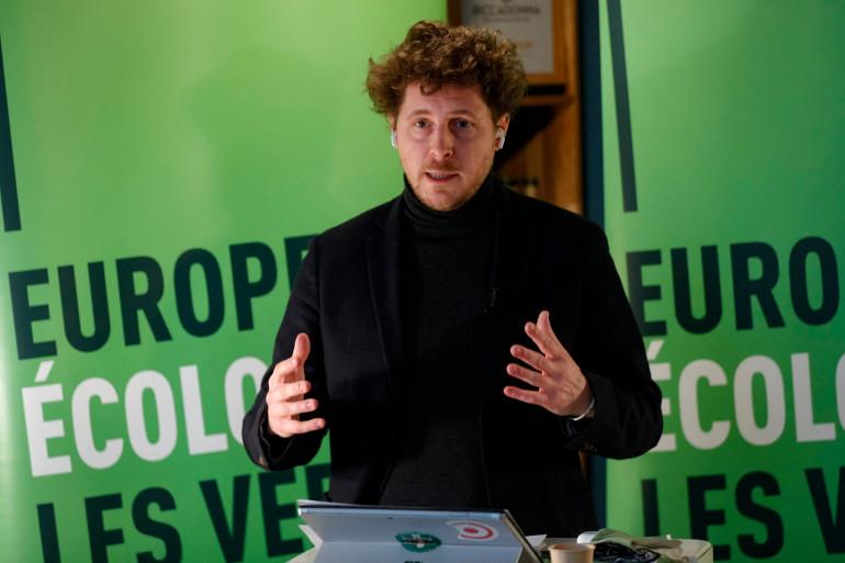 Julien Bayou, secrétaire général d'EELV.