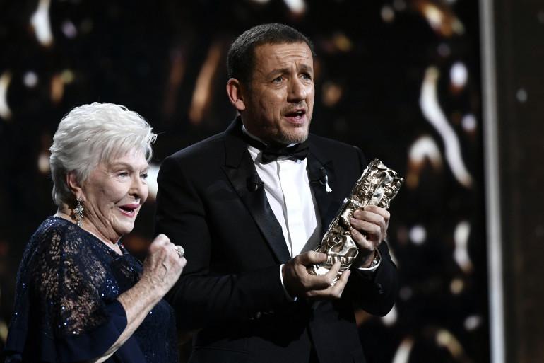 Line Renaud et Dany Boon aux César en 2018