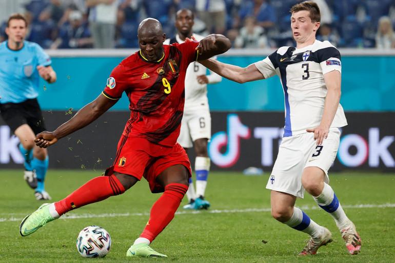 L'attaquant belge Romelu Lukaku a encore marqué ce lundi face à la Finlande