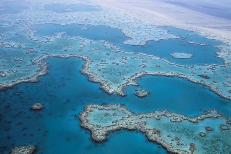 La Grande Barrière de Corail est le plus long récif corallien au monde. Il entoure la côte Est australienne, partant de Cap York (à l'extrême nord du pays), jusqu'à Bundaberg (à la pointe sud)