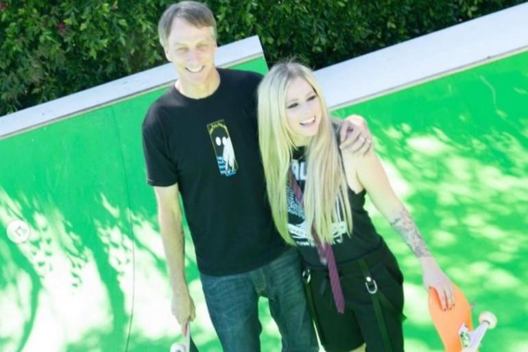 Avril Lavigne et Tony Hawk, deux légendes réunies pour Tiktok