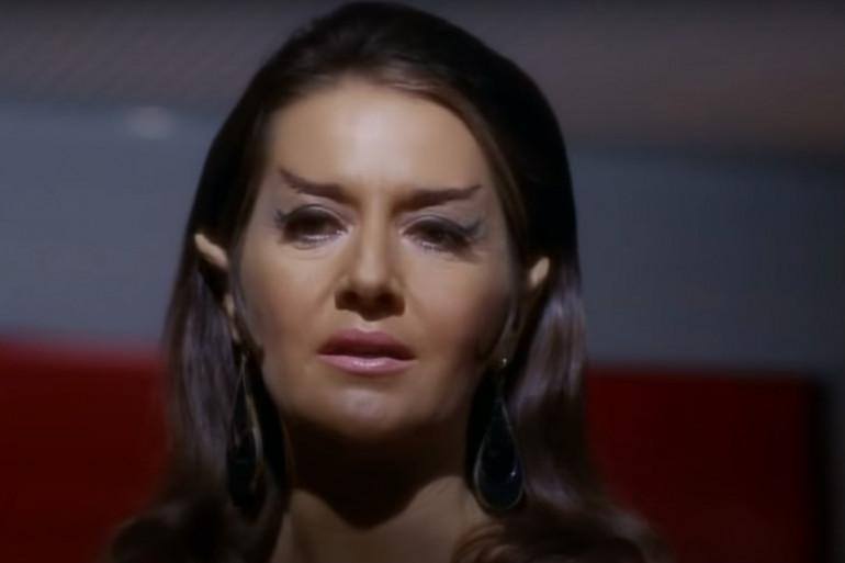 """Joanne Linville dans """"Star Trek"""" en 1968"""