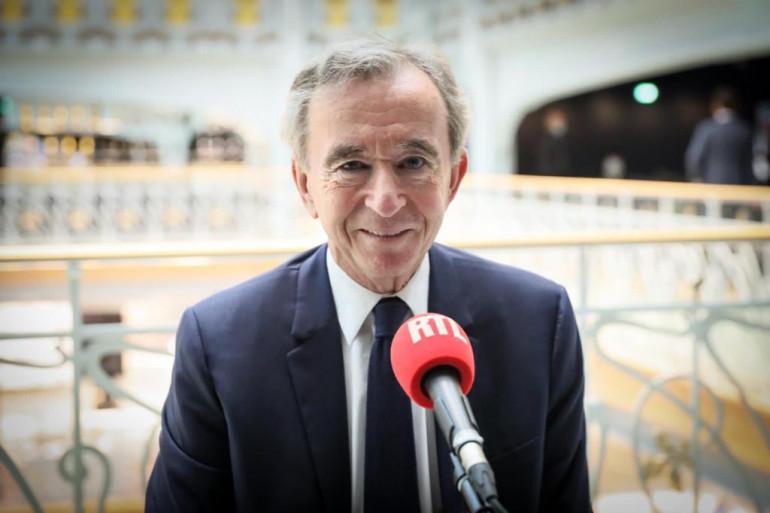Bernard Arnault à La Samaritaine au micro de RTL, le 23 juin 2021