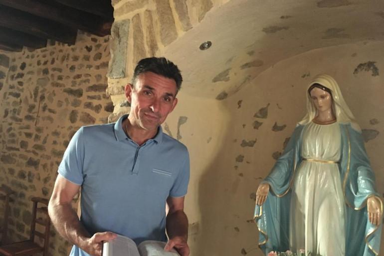 Guillaume Warmuz, ancien joueur de football, est aujourd'hui aumônier dans le Creusot. (Illustration)
