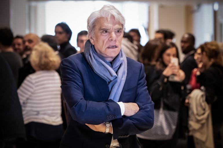 Photo de Bernard Tapie prise au palais de justice de Paris, le 4 avril 2019. (Illustration)