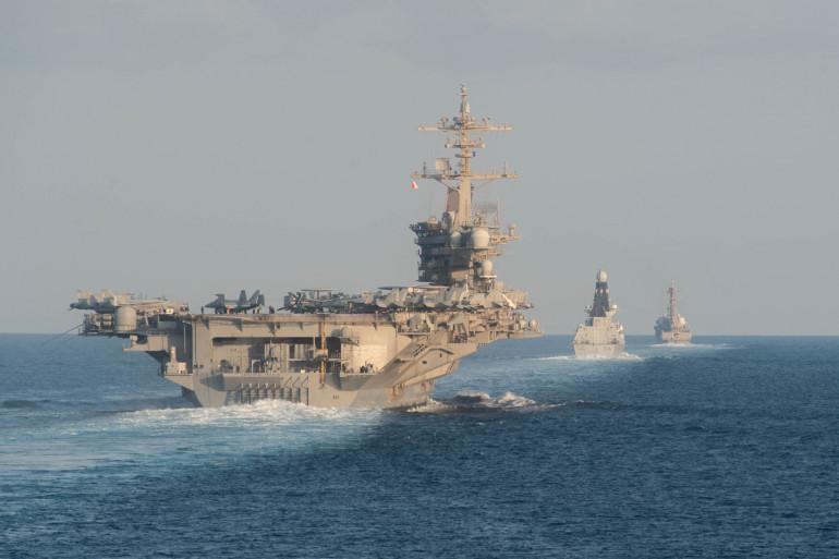 L'HMS Defender le 19 novembre 2019.