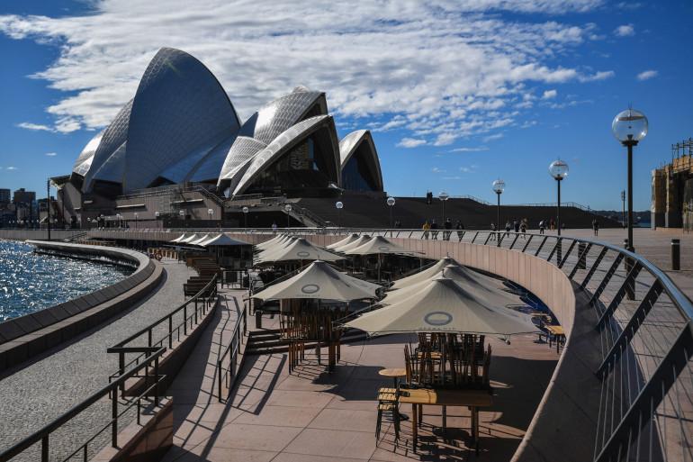 Sydney en Australie, le 26 juin 2021.