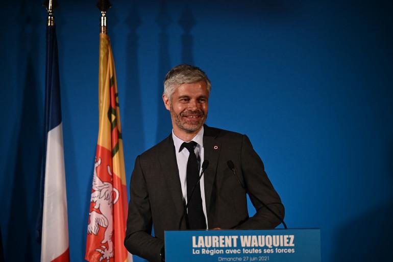 Laurent Wauquiez, le 27 juin 2021