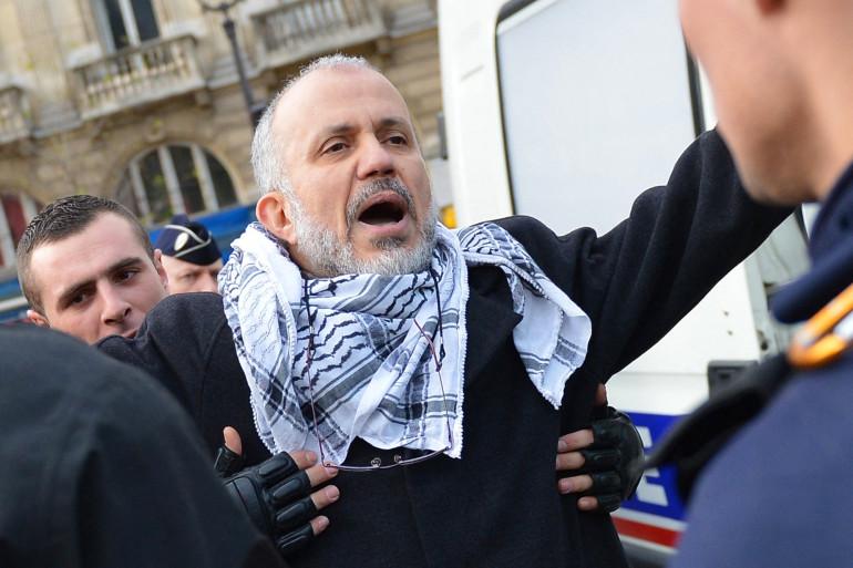 Photo du militant islamiste Abdelhakim Sefrioui prise le 29 décembre 2012, à Paris. (Illustration)