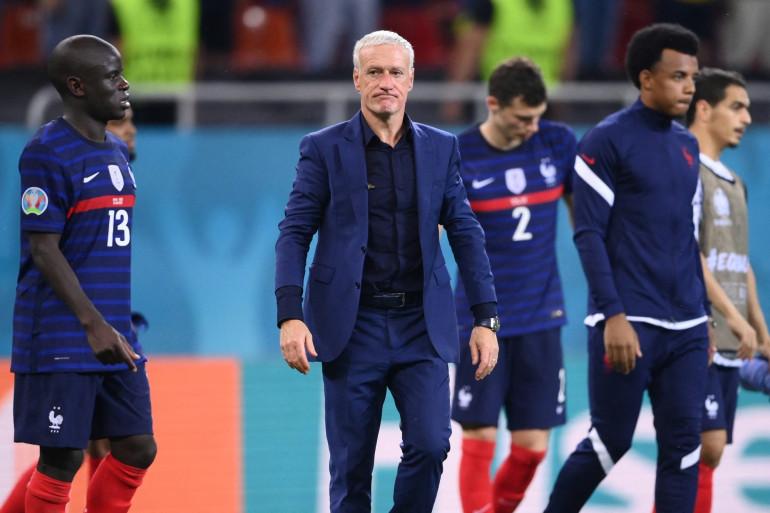 Didier Deschamps à Bucarest le 28 juin 2021