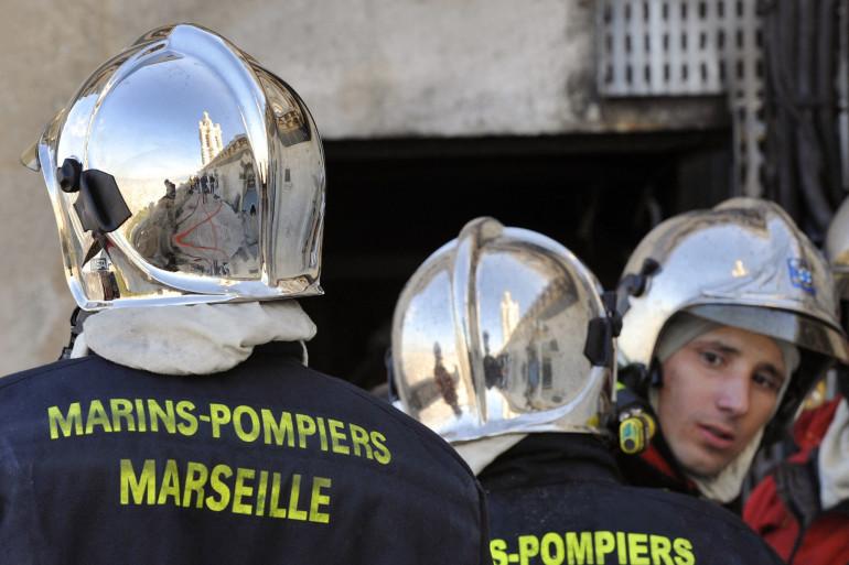 Des marins-pompiers de Marseille.