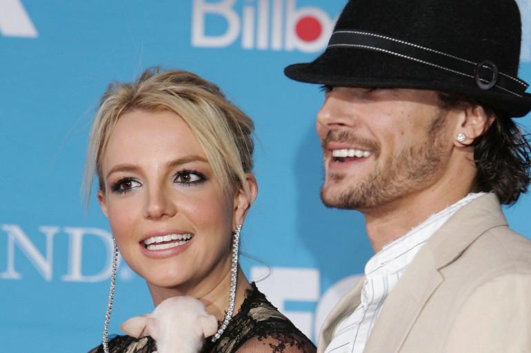 Britney Spears et Kevin Federline en 2004