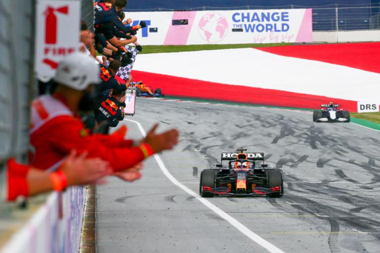 Max Verstappen vainqueur du GP de Styrie le 27 juin 2021