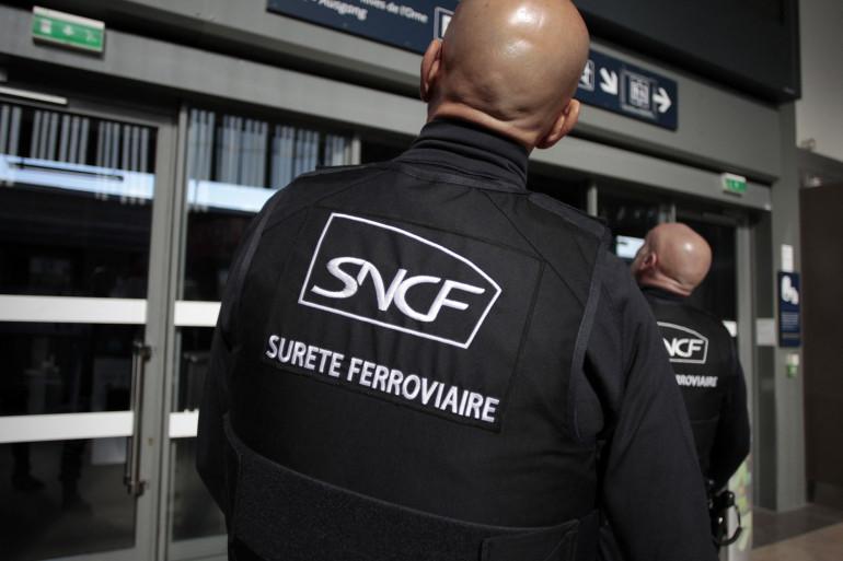 Des agents de la sûreté ferroviaire (illustration).
