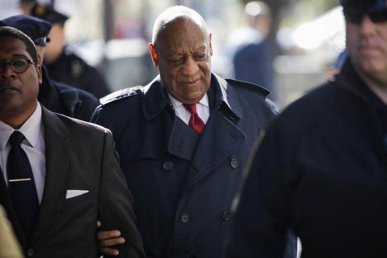 Photo de Bill Cosby prise le 26 avril 2018, au palais de justice du comté de Montgomery à Norristown, en Pennsylvanie.