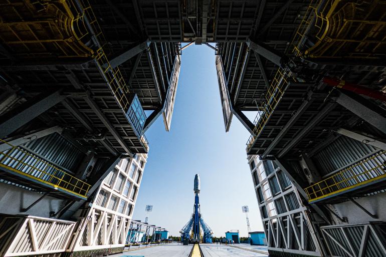 Une fusée Soyouz à Vostotchny en Sibérie