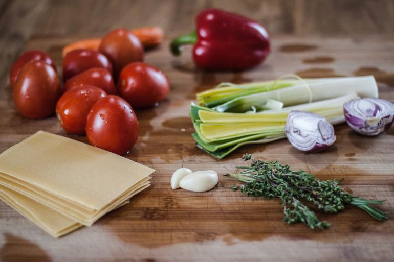 Découvrez la recette des lasagnes de Cyril Lignac au thon et aux légumes