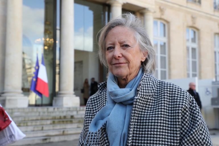 Photo de Sophie Cluzel, secrétaire d'Etat auprès du Premier ministre, chargée des personnes handicapées, prise au Palais de l'Elysée à Paris, le 11 février 2020. (Illustration)