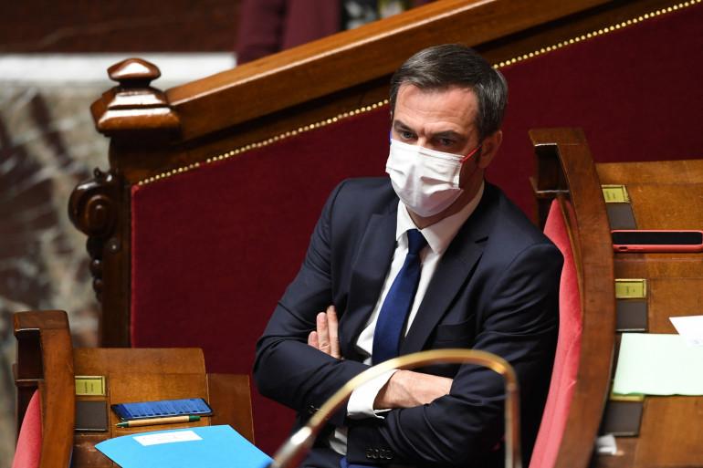 Photo d'Olivier Véran prise à l'Assemblée nationale, à Paris, le 25 mai 2021.