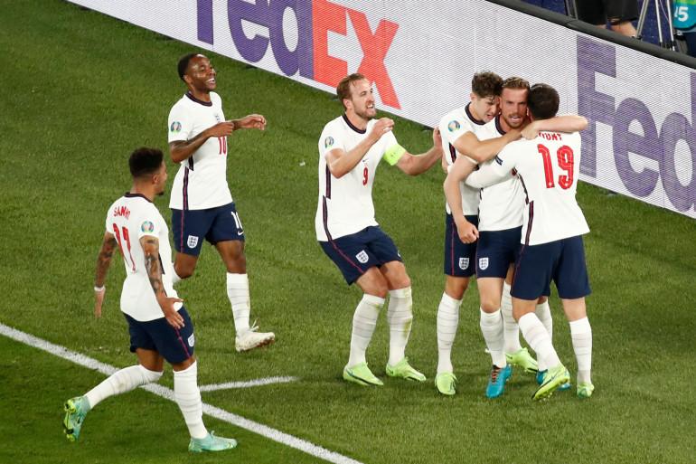 L'équipe de football d'Angleterre a vaincu l'Ukraine en quart de finale samedi 3 juillet à Rome.