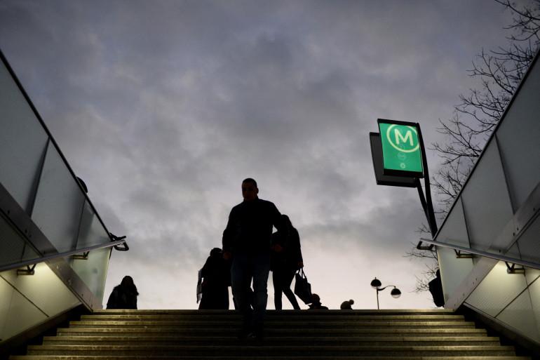 La station de métro Bercy à Paris.