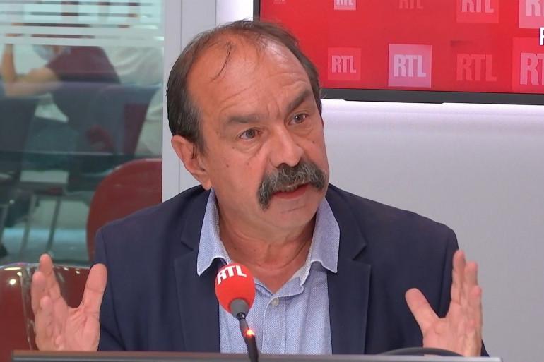 Philippe Martinez, dans RTL Soir, le 5 juillet 2021