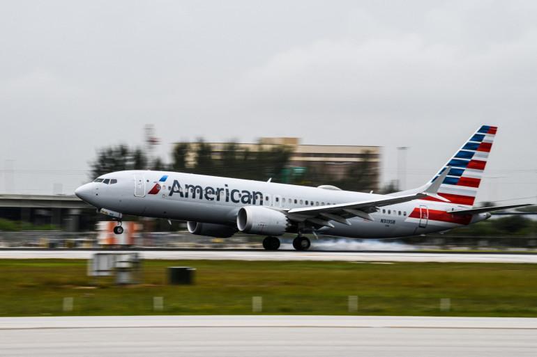 Un avion de l'American Airlines (illustration)