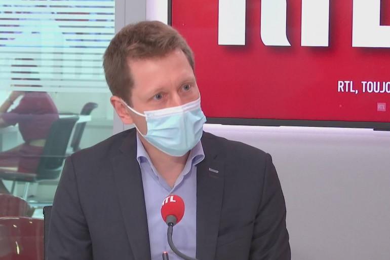 Le Pr Stéphane Gaudry était l'invité de RTL Soir.