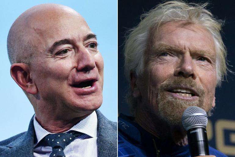 Jeff Bezos et Richard Branson veulent faire entrer le tourisme spatial dans une nouvelle ère