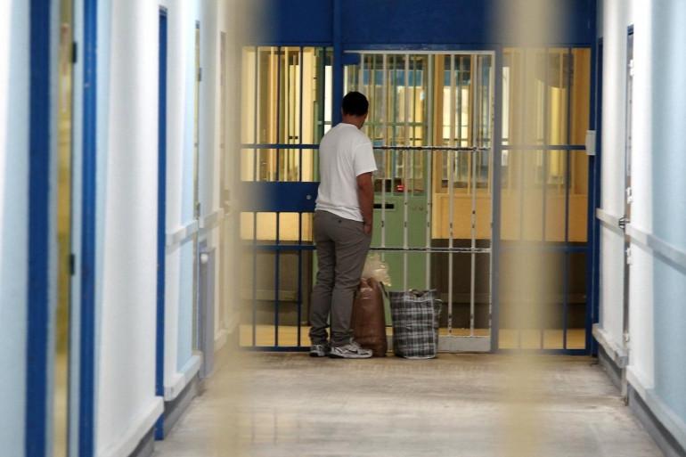 Un surveillant de prison (illustration)