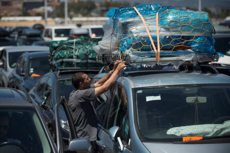 Une voiture trop chargée est une voiture où conducteur et passagers ne sont pas en sécurité. (Illustration)
