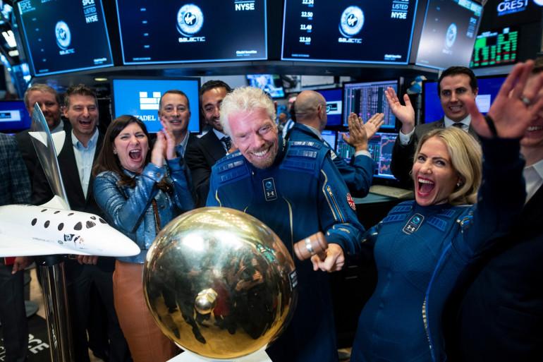 Le milliardaire britannique Richard Branson fondateur de Virgin Galactic