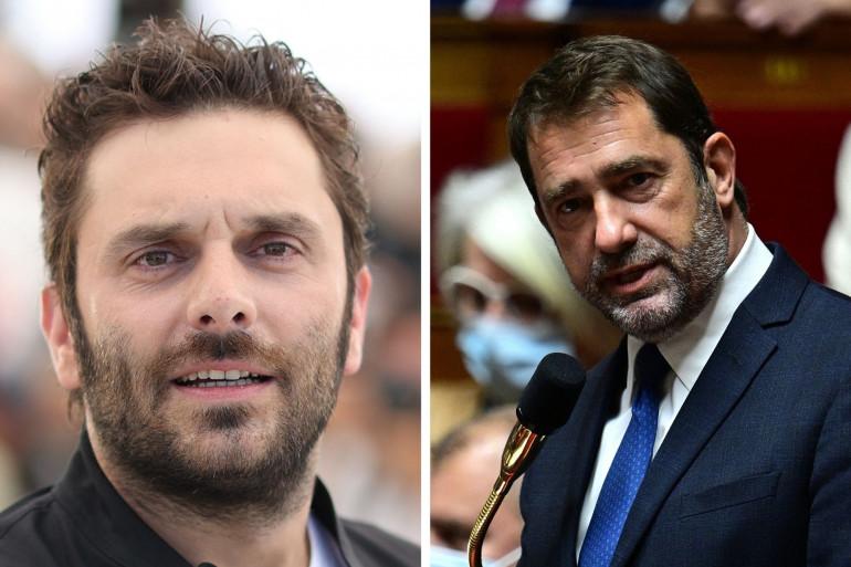 Pio Marmaï (à gauche) et Christophe Castaner (à droite).