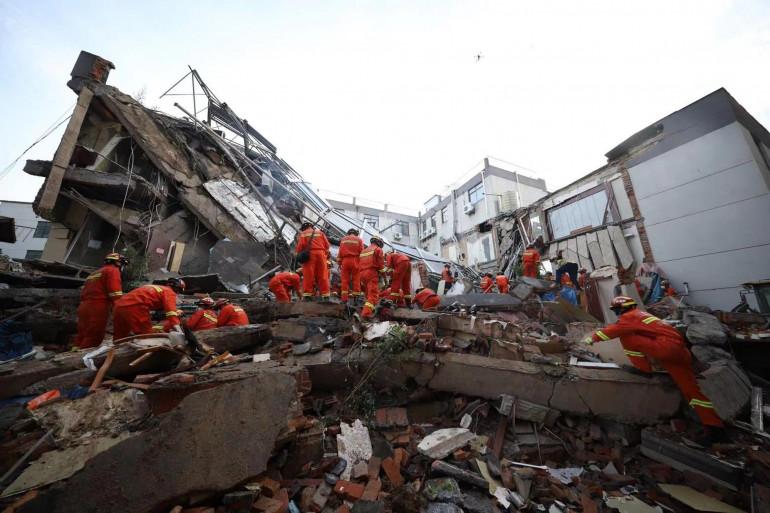 Une personne est morte ce lundi 12 juillet dans l'effondrement d'un hôtel en Chine