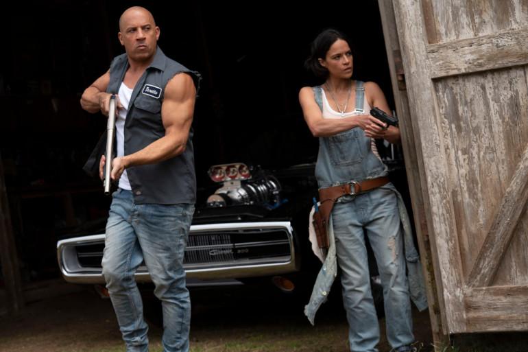 """Vin Diesel et Michelle Rodriguez dans """"Fast and Furious 9"""""""