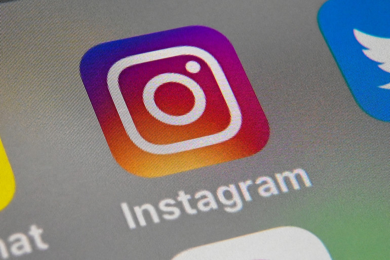 Le logo de l'application Instagram