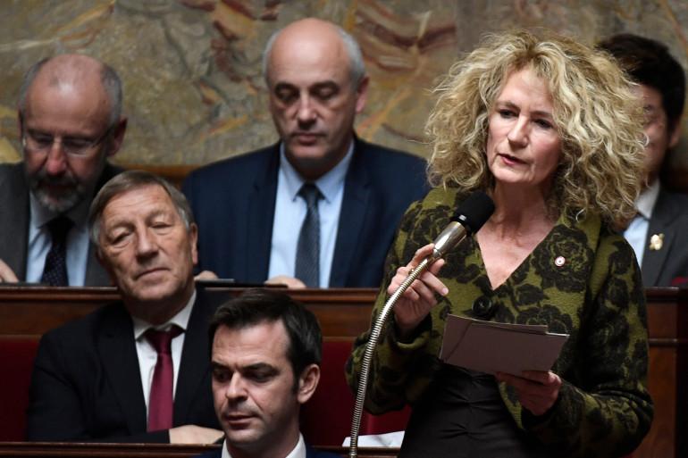 Martine Wonner, ex-députée LaREM à l'Assemblée nationale, le 14 novembre 2017.