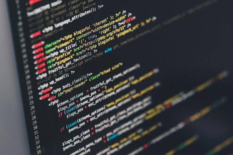 Un code source sur un ordinateur (illustration)