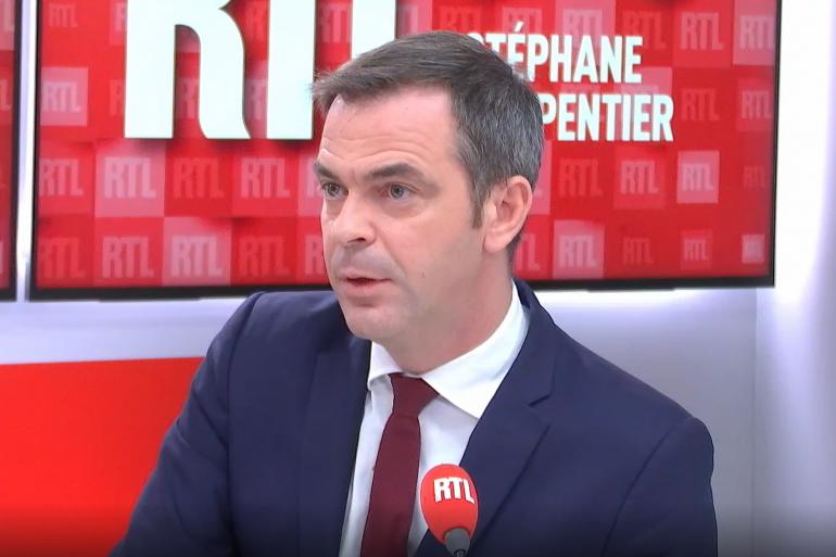 Le ministre de la Santé Olivier Véran, le 20 juillet 2021