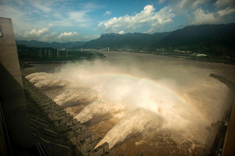 Un barrage en Chine (illustration)