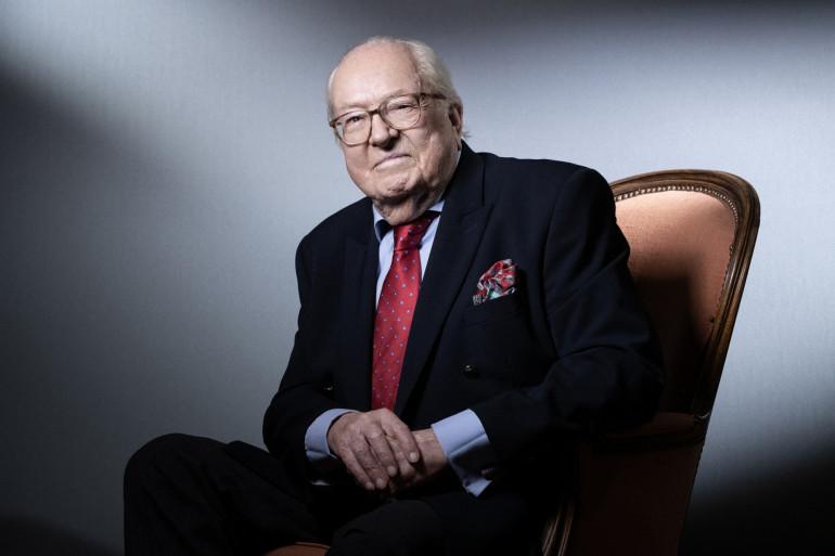 Portrait de Jean-Marie Le Pen.