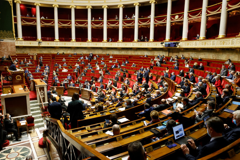 Photo de l'Assemblée nationale. (Illustration)