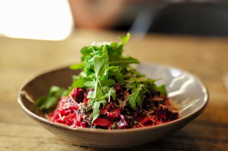 Une salade de betteraves (image d'illustration)